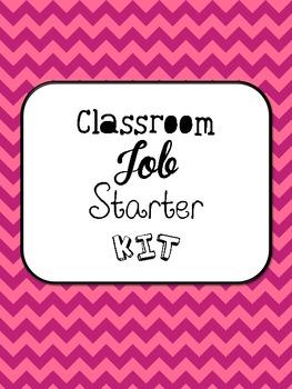 Classroom Job {Starter Kit}