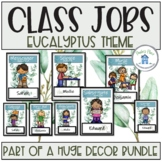 Classroom Jobs Eucalyptus Theme