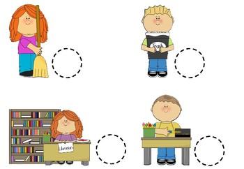 Classroom Jobs - Βοηθοί στην τάξη μας