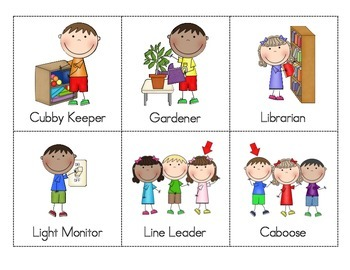 Classroom Jobs By Once Upon A Time In Kinderland Tpt