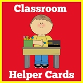 Classroom Jobs Kindergarten | Preschool