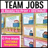Classroom Crews (Class Jobs in Teams!) [EDITABLE]