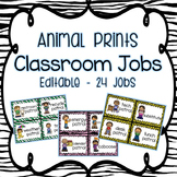 Animal Prints Classroom Jobs
