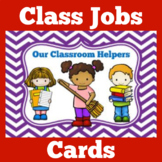 Classroom Jobs with Pictures | Printable
