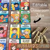 Editable Classroom Jobs - Classroom Helpers Job Chart Display - Class Jobs