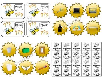 Bee Theme Classroom Jobs