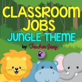 Jungle Theme Classroom Jobs