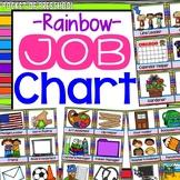 Rainbow Classroom Jobs Chart