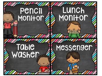 Classroom Jobs