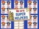 Classroom Jobs Superhero Job Chart