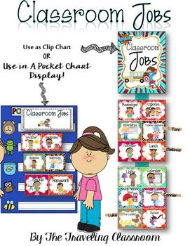Classroom Jobs {Super Hero Theme}