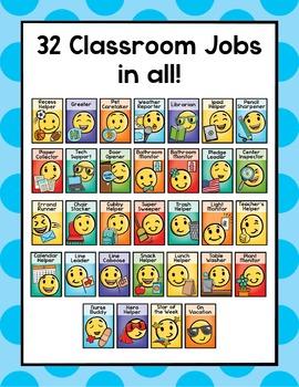 Classroom Jobs Emoji