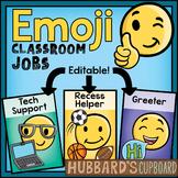 Emoji Classroom Theme - Editable Classroom Jobs - Emoji Back to School Job Chart