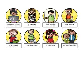 Melonheadz Classroom Jobs