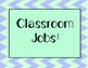 Classroom Jobs (32 to choose from!)