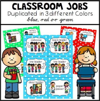Classroom Jobs US Version