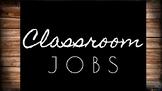 Classroom Jobs *EDITABLE