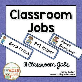 Classroom Jobs:  A Special Request
