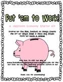 Classroom Jobs - A classroom economy starter kit