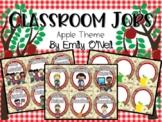 Classroom Jobs (Apple Theme)