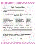 Classroom Jobs Application