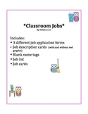 Classroom Jobs & Applications