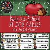 Classroom Jobs - Back-to-School Decor