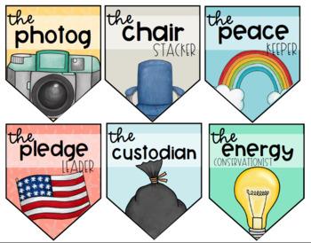 Classroom Jobs Banner