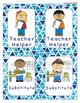 Classroom Jobs Blue Triangles