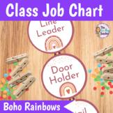 Classroom Jobs   Boho Rainbows