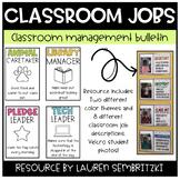 Classroom Jobs Bulletin Board