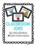 Classroom Jobs Bulletin Board or Magnet Set