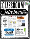 Classroom Jobs Bundle