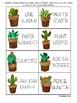 Classroom Jobs - Cactus Theme FREE