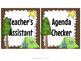 Classroom Jobs- Camp Theme