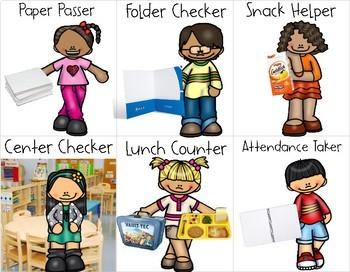 Classroom Jobs Cards