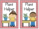 Classroom Jobs Cards--Houndstooth