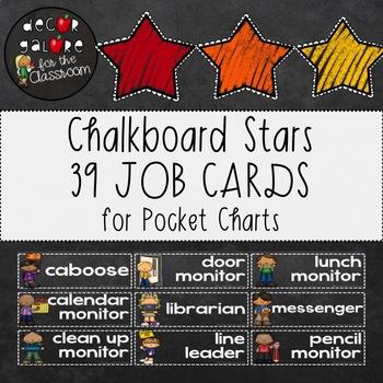 Classroom Jobs - Chalkboard Decor
