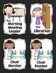 Classroom Jobs - Chalkboard Theme