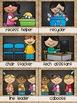 Classroom Jobs Chalkboard and Burlap Classroom Decor Theme
