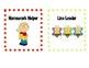 Classroom Jobs Chart (editable)