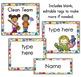 Classroom Jobs Chart - Polka Dots