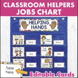 Classroom Jobs Chart - Colorful Polka Dots