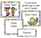 Classroom Jobs with Pictures - Job Chart - Colorful Polka Dots