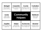 Classroom Jobs Chart - Community Helpers