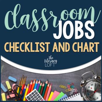 Classroom Jobs Chart {Navy,White,Gray}