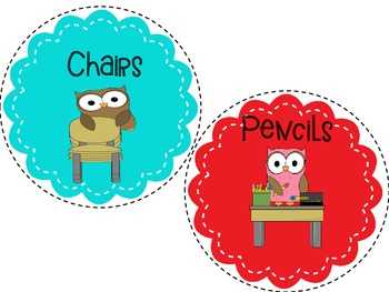 Classroom Jobs Chart! {Owl Themed}