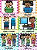 Classroom Jobs in Chevron Classroom Decor with EDITABLE cards Back To School