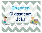 Classroom Jobs- Chevron Patterned