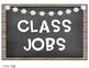 Classroom Jobs (Chic Dog Theme)